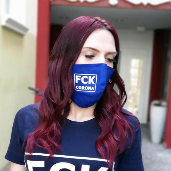 FCK Corona Gesichtsmaske 1